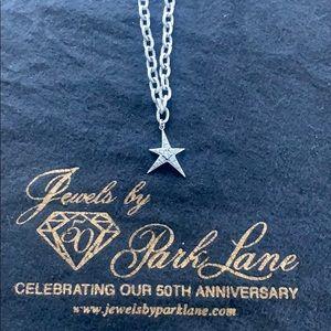 Park Lane Silver Star CZ Bracelet